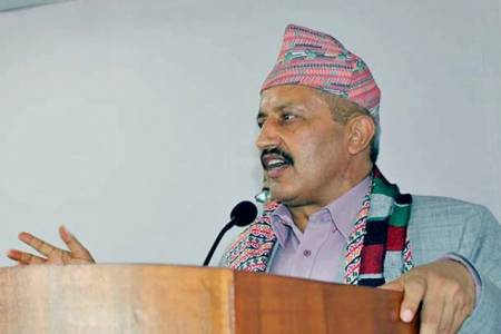 Nepal's constitution incorporating education as a fundamental right: Giriraj Mani Pokharel