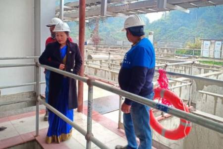 Bagmati water treatment facility to be inaugurated soon: Minister Magar